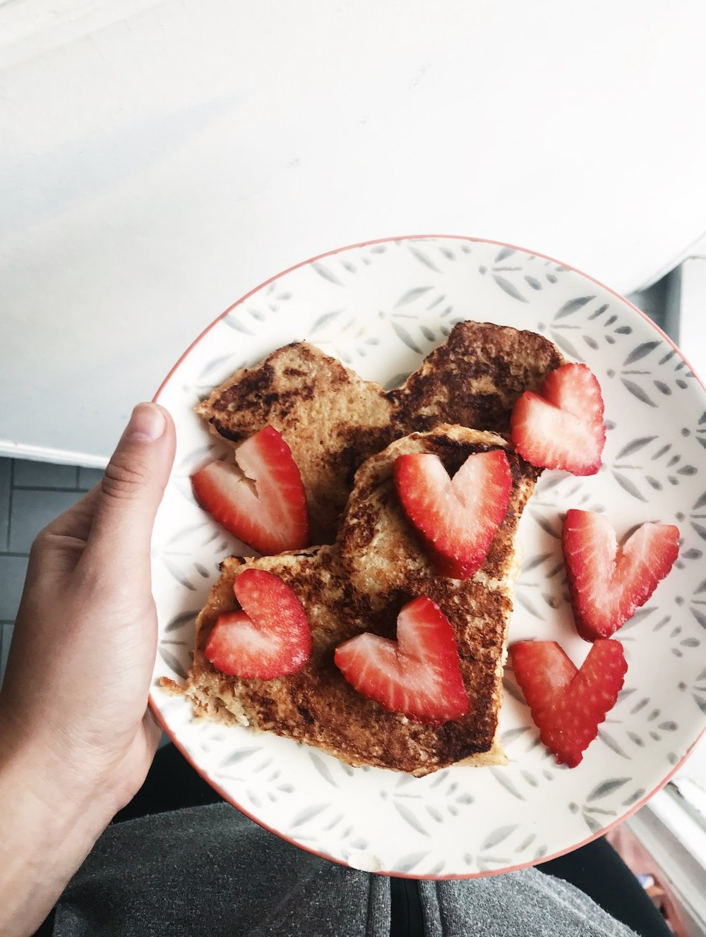 Valentines Day French Toast | Don't Stop the Love | | Ruby Josephine