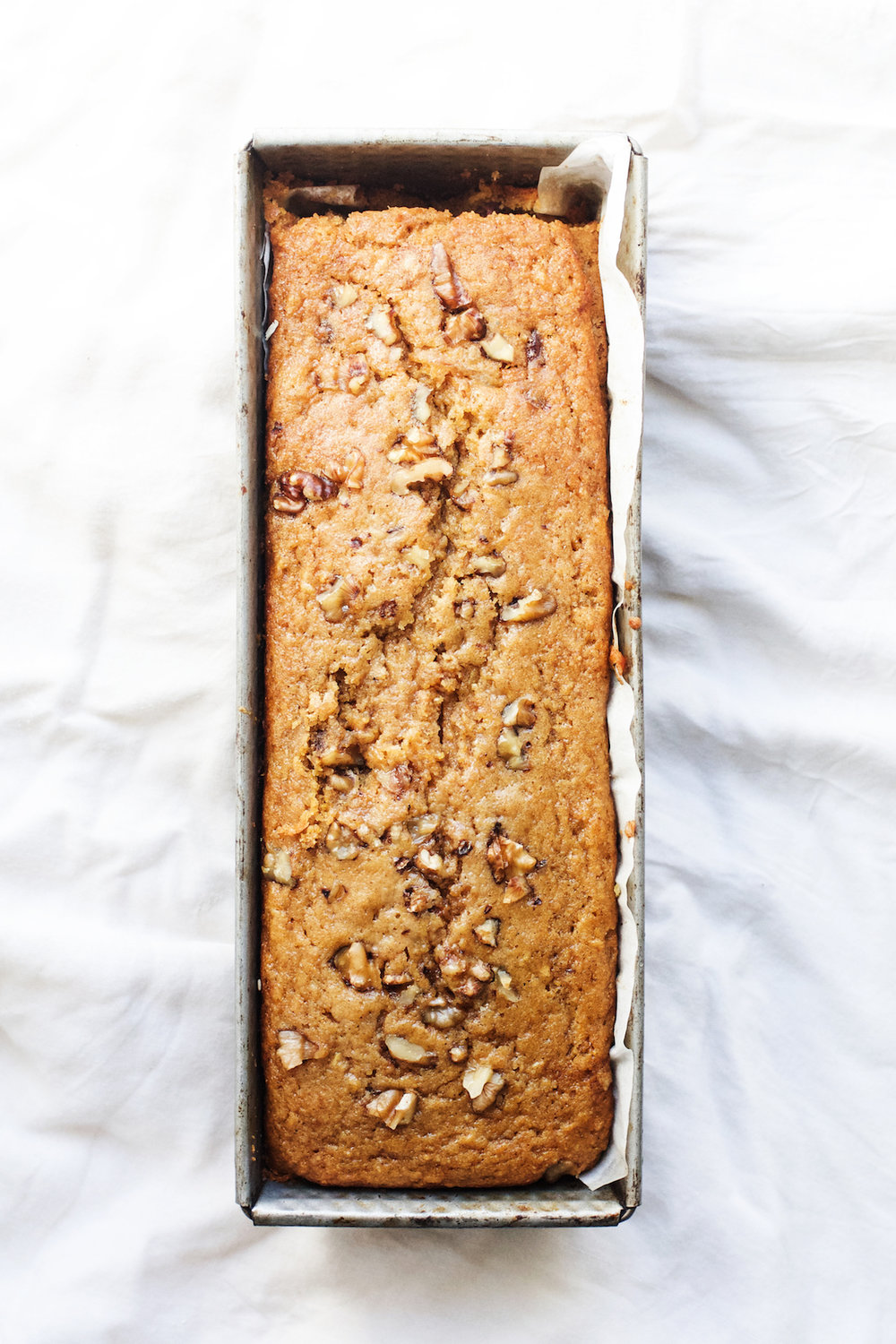 Spiced Carrot + Date Loaf Cake | Ruby Josephine