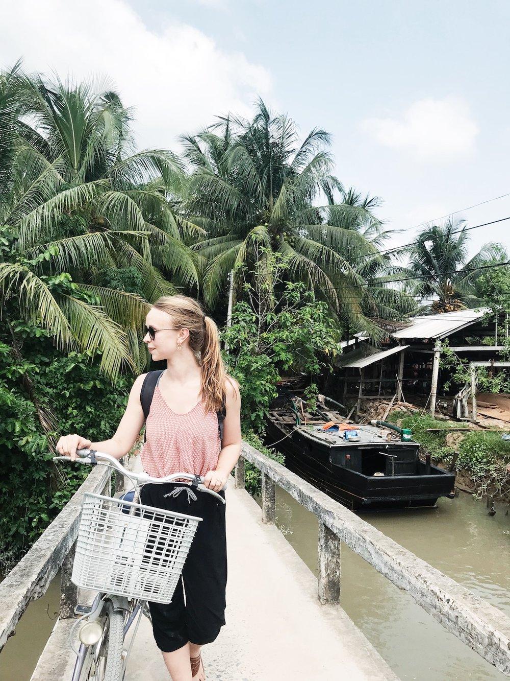 Biking in the Mekong Delta, Vietnam Travel Diary | Ruby Josephine