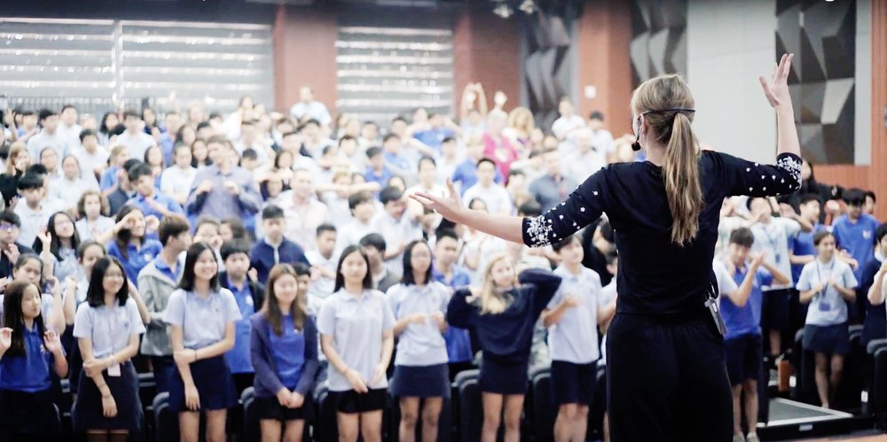 Ruby is thrilled to offer artistic residencies & workshops to international schools all over the world. -
