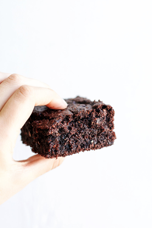 Gluten-free Dark Chocolate Zucchini Brownies | Ruby Josephine