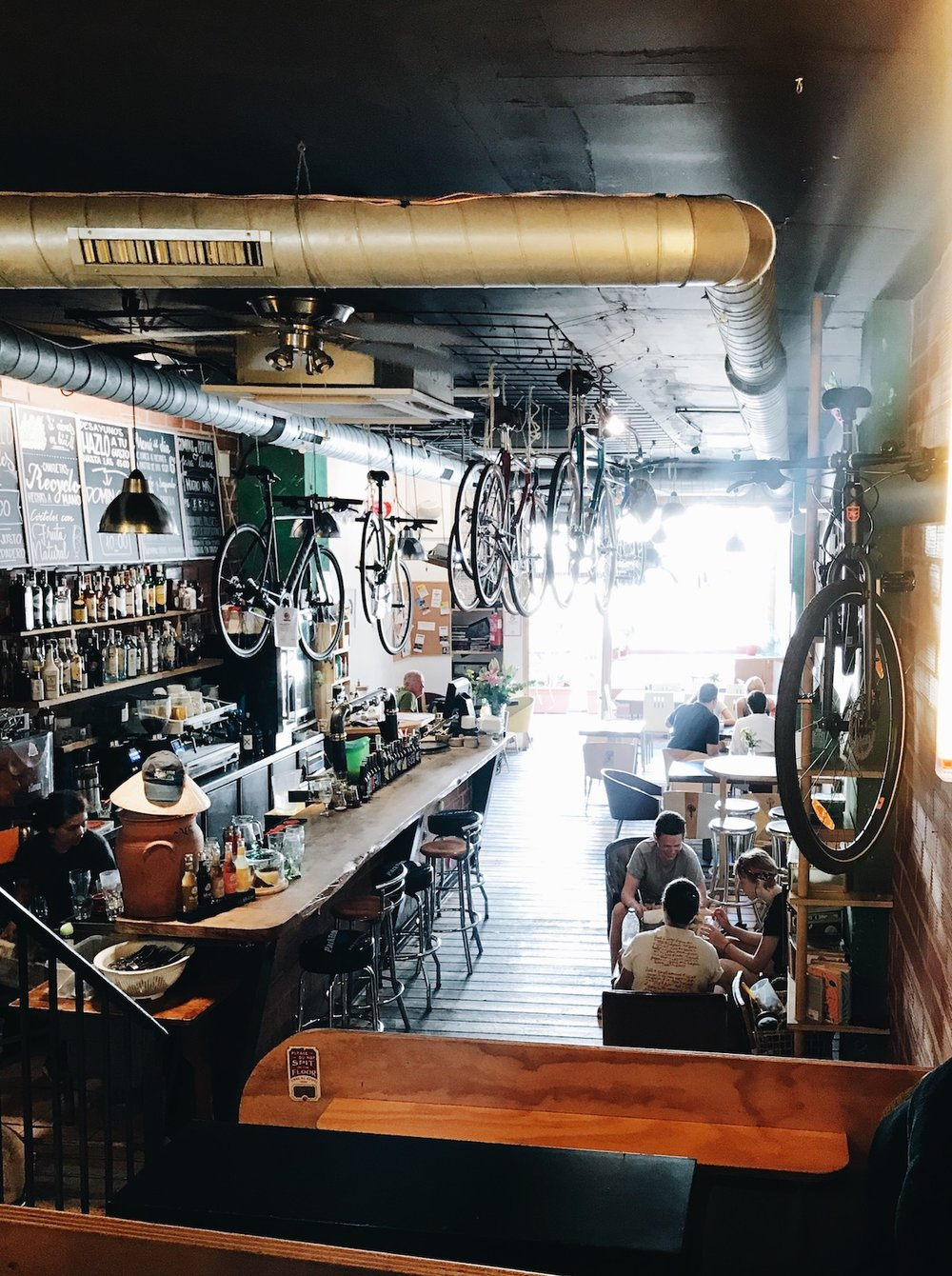 Recyclo Bike Cafe | A Handful of Favorite Cafes + Eats in Malaga, Spain | Ruby Josephine
