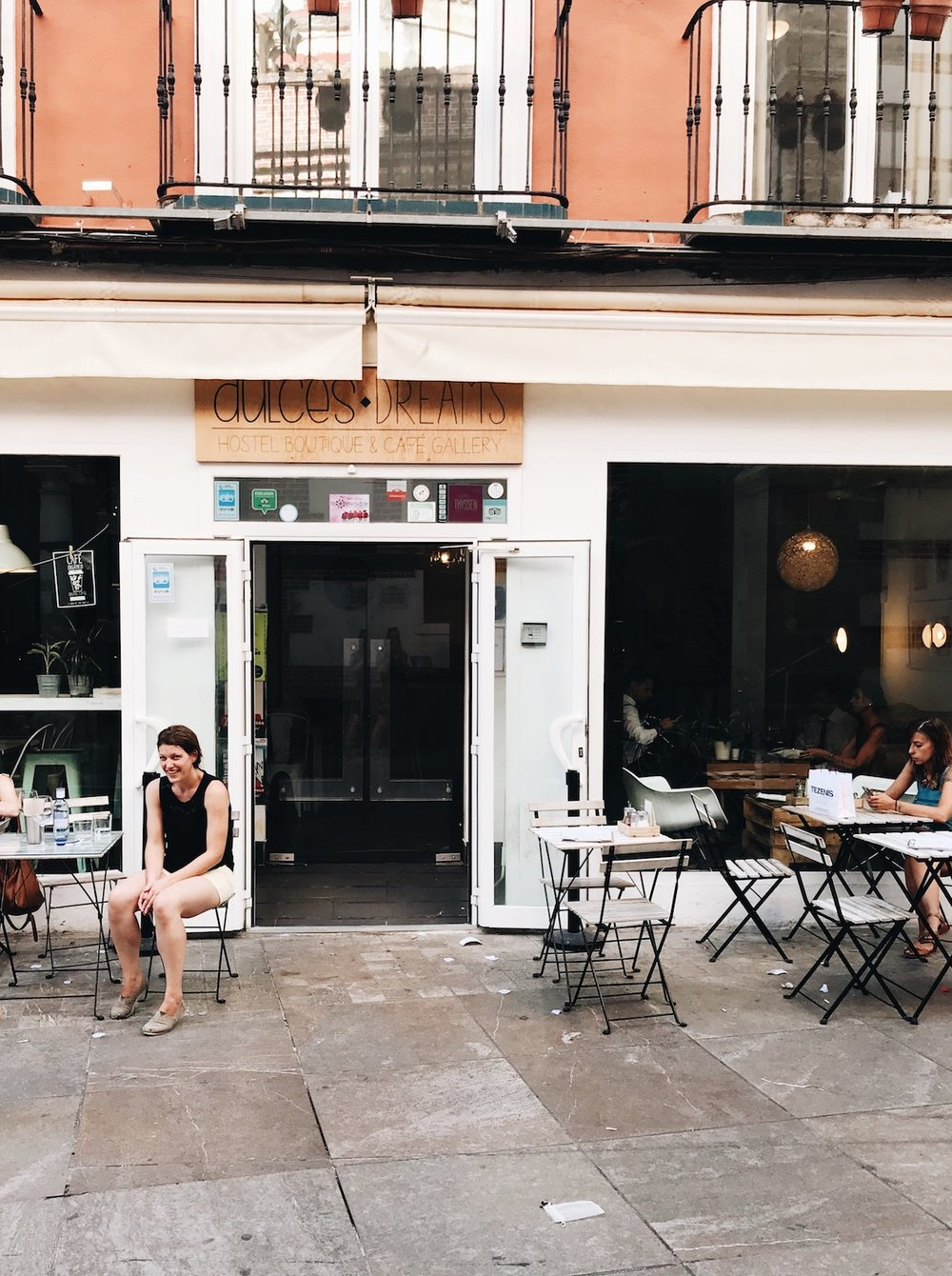 DUlce Dreams Cafe | A Handful of Favorite Cafes + Eats in Malaga, Spain | Ruby Josephine