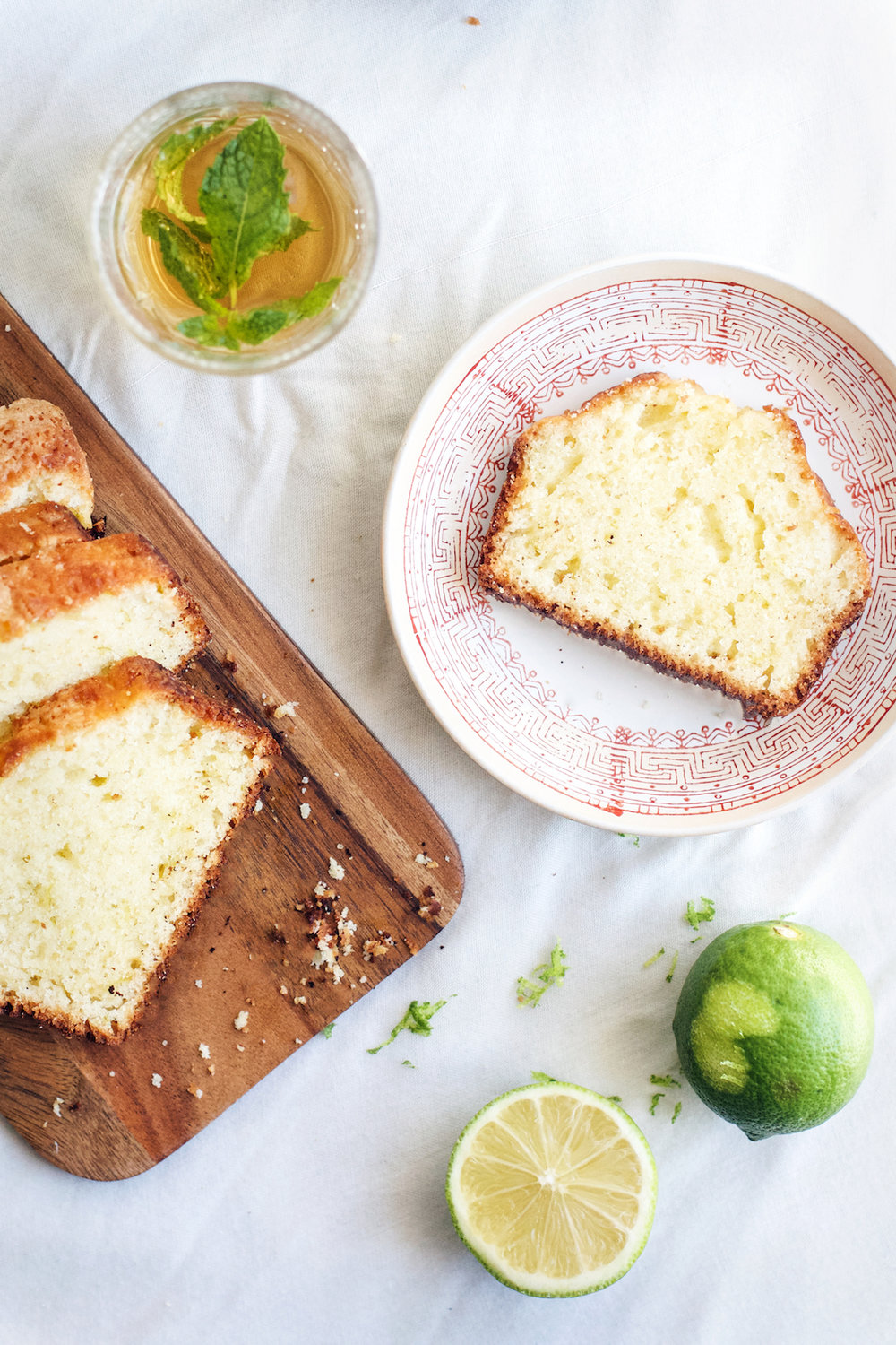The Easiest Little Cardamom Lime Loaf Cake | Ruby Josephine
