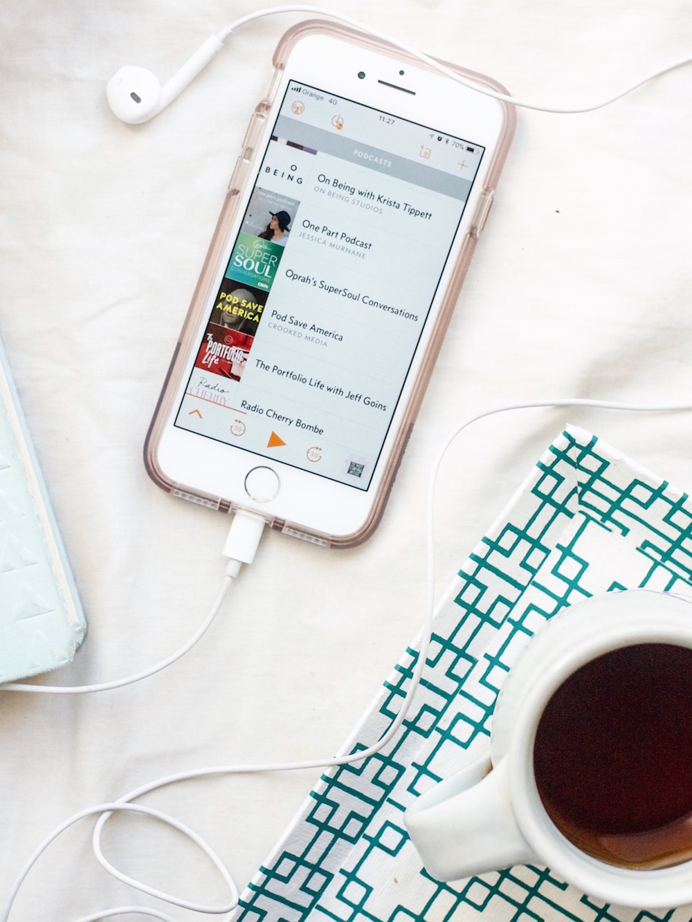 The 5 Best Podcasts for Creative Inspiration | Ruby Josephine