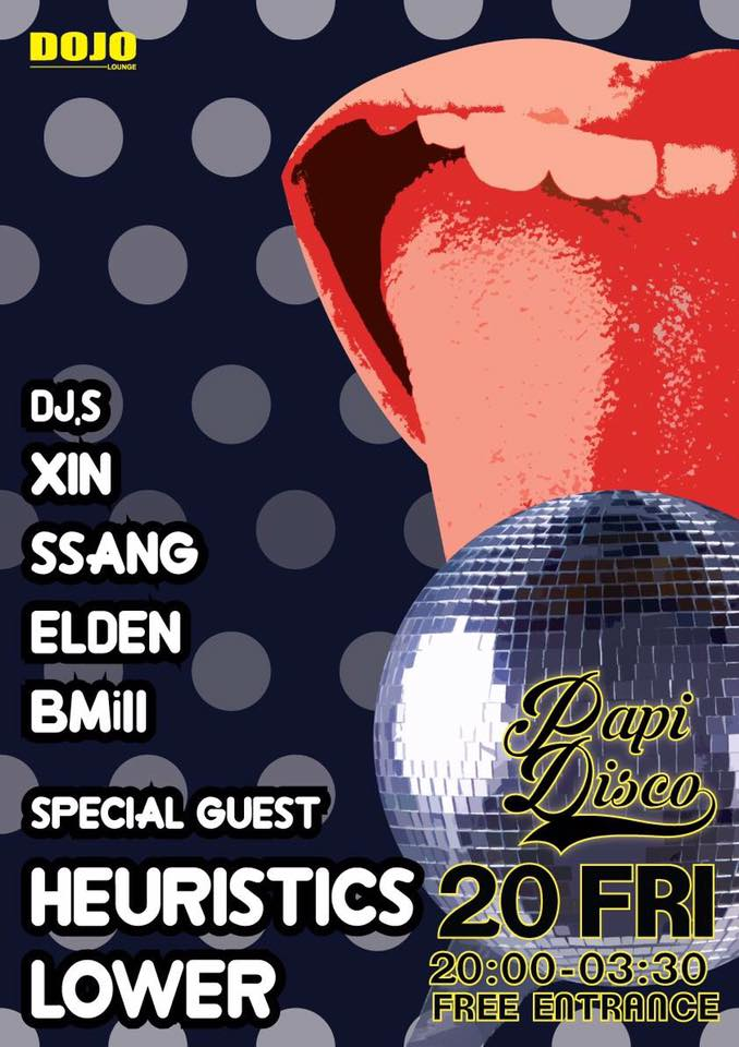 Friday January 20th @ Dojo Lounge  B1, 671 Itaewon-Dong, Yongsan-GU Seoul, South Korea