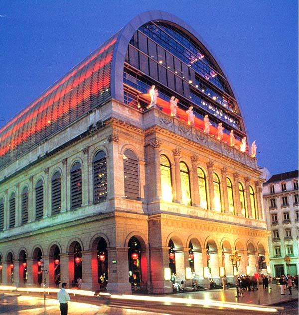 Nouvel Opera House, Lyon