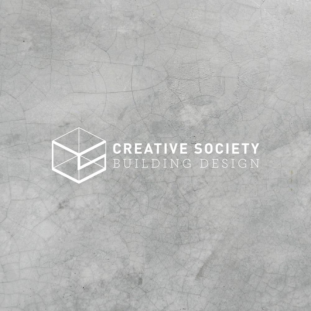 Creative Society Building design Logo
