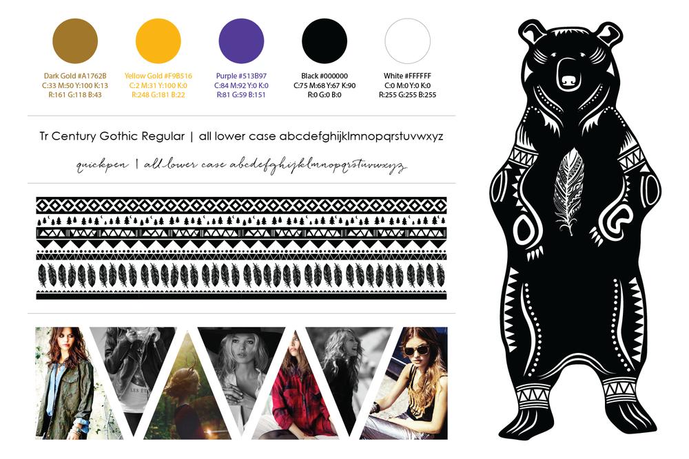 Freyja Lifestyle Fashion Brand Board