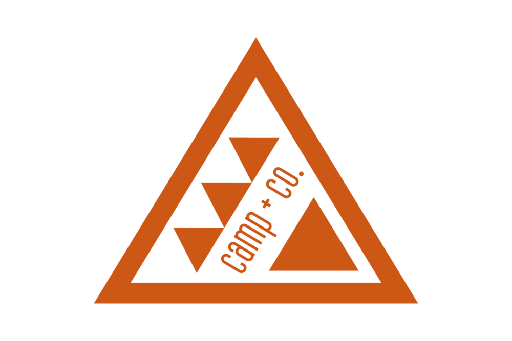 Camp + Co. Triangle Graphic