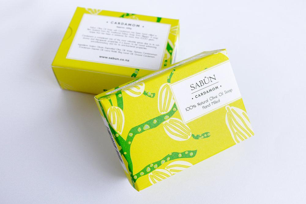Sabun Soap Packaging