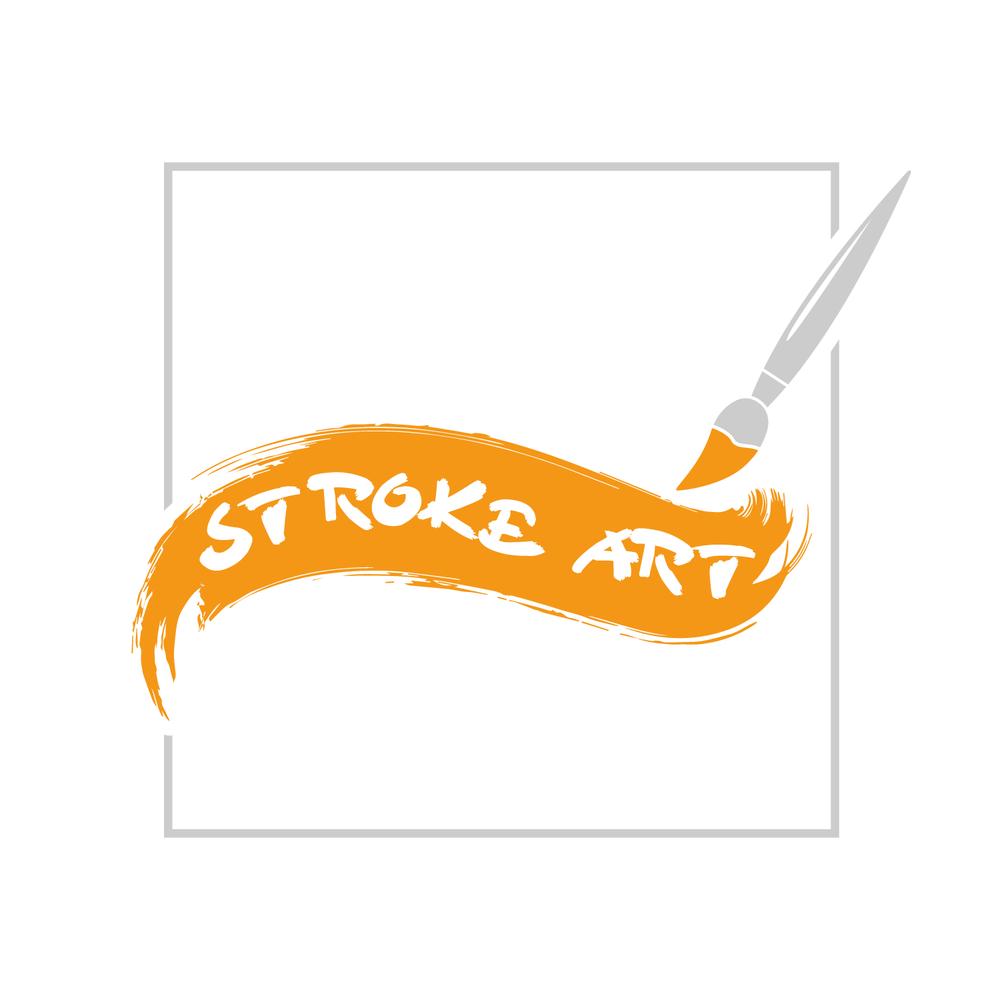 Stroke Art Logo
