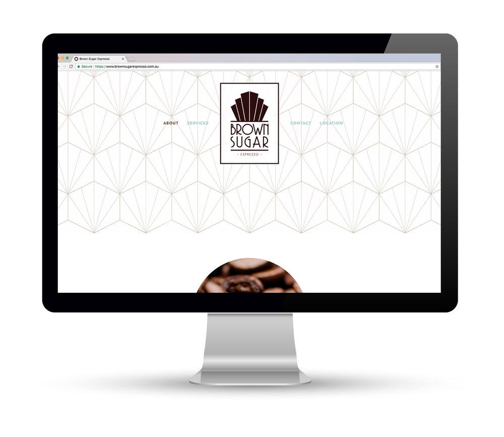 Brown Sugar Espresso Website Design