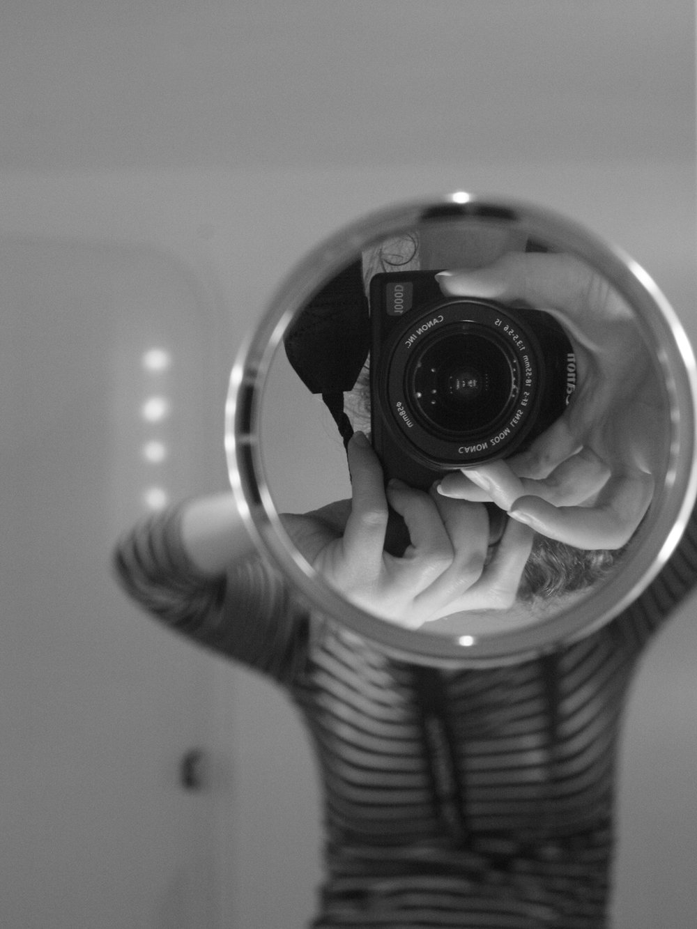 Self portrait at home. Auckland, New Zealand