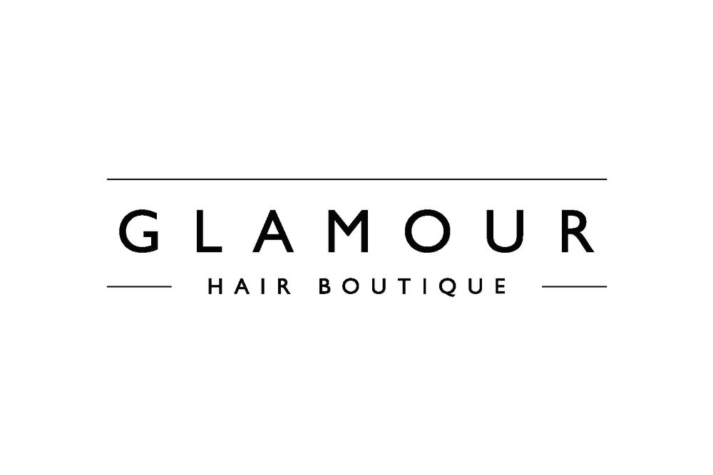 Glamour Hair Boutique Logo Design