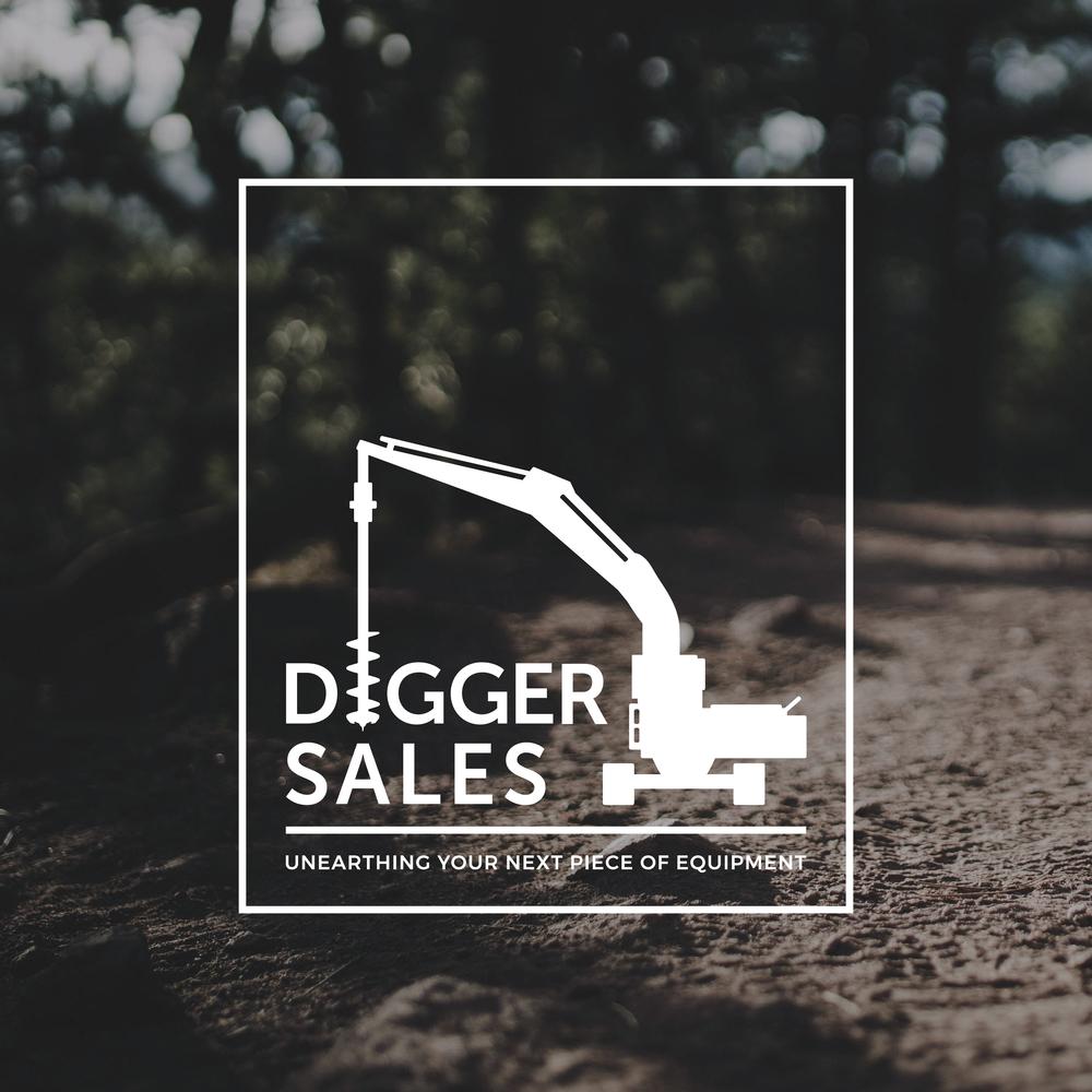 Digger Sales Logo Design