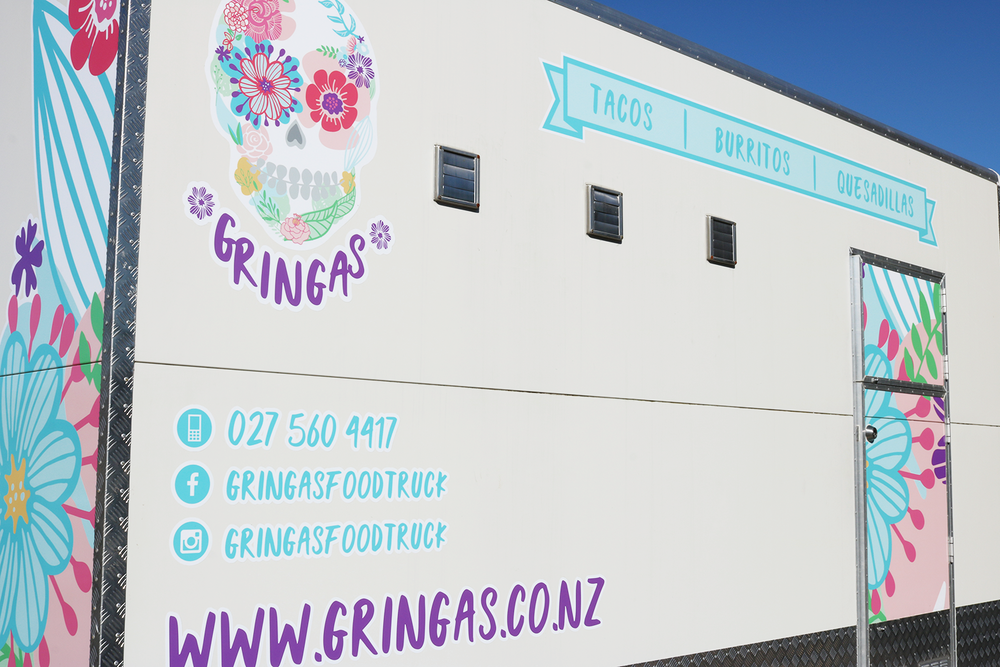 Gringas Food Truck Back