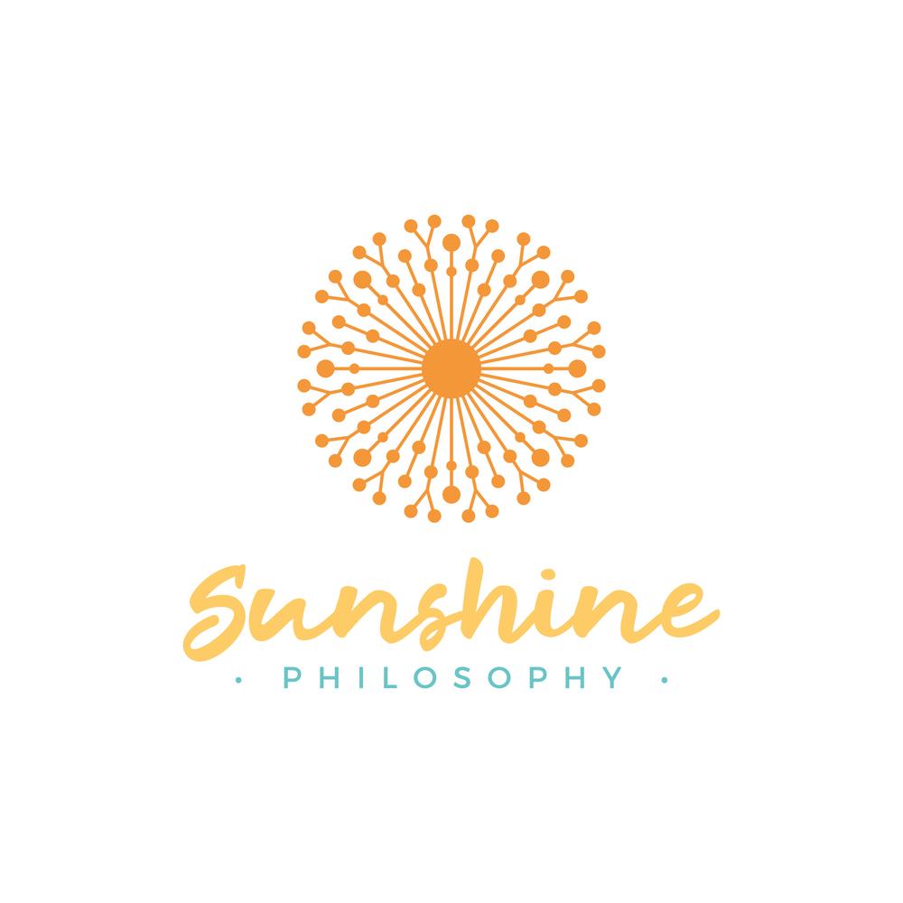 Sunshine Philosophy Logo Design