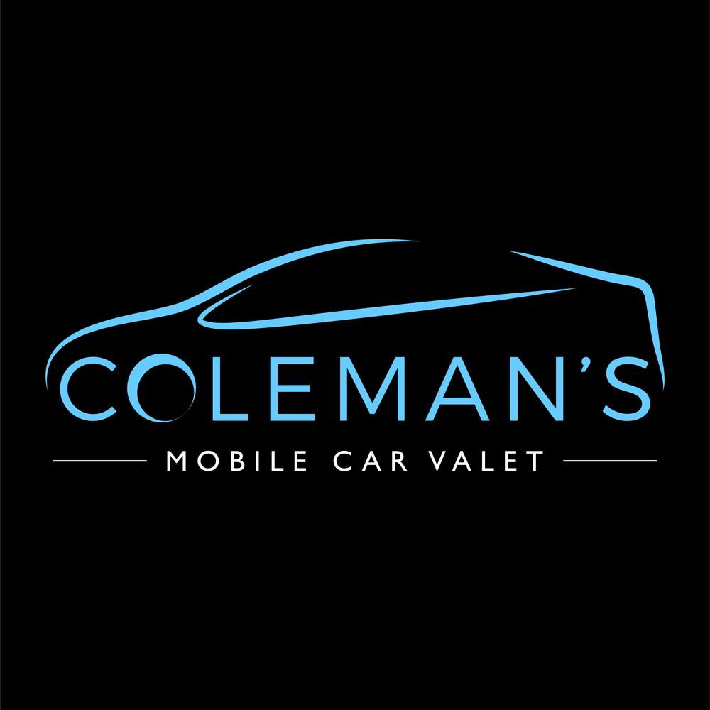 Coleman's Mobile Car Valet Logo