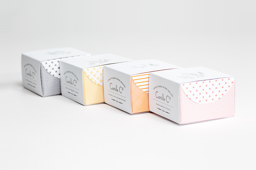Camille Co. Soap Packaging