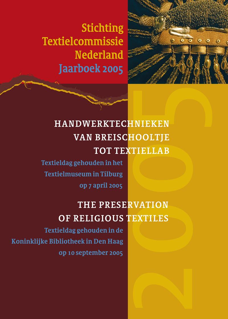 - Handwerktechnieken van breischooltje tot textiellab Voorjaar 2005