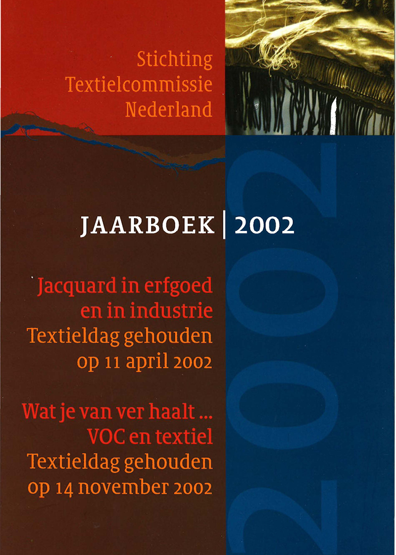 - Jacquard in erfgoed en in industrieVoorjaar 2002