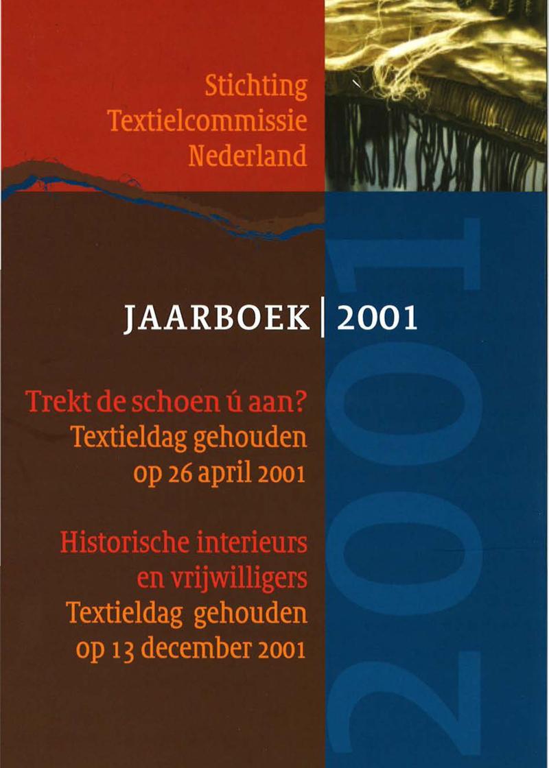 - Historische interieurs en vrijwilligersNajaar 2001