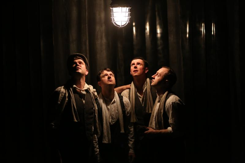 Cast Left to Right - Kieran Knowles, Salvatore D'Aquilla, James Wallwork and Chris McCurry