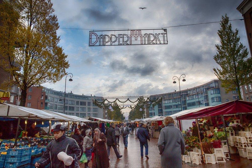 Dappermarkt, Amsterdam