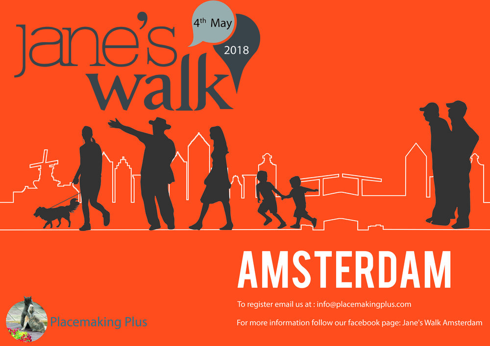 JANE'S WALK AMSTERDAM 2018 (4th May,2018)