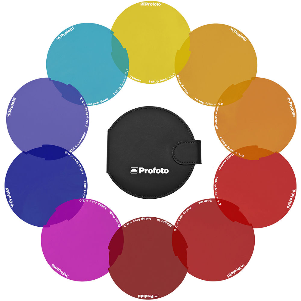 Profoto OCF Color Effects Gel Pack - 8€/Day