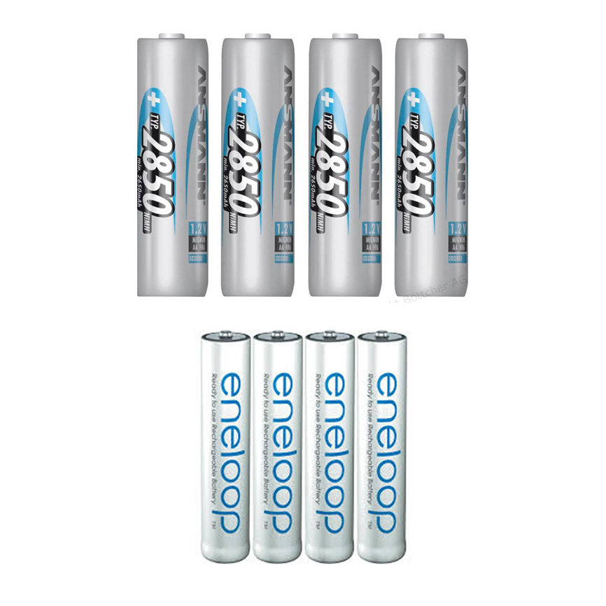 AA / AAA Batteries - 3€ Day/4 units