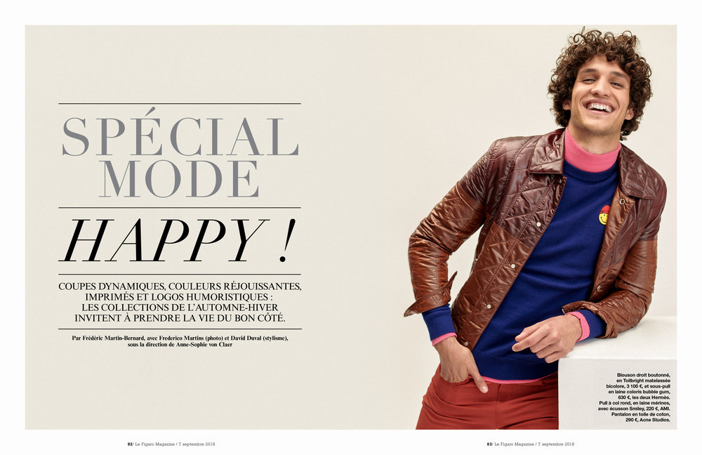 Happy, Le Figaro, Kiko Henriques, Frederico Martins, Lalaland Studios, Portugal, Paris