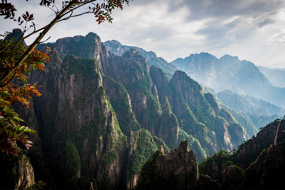 ...and the mountains of Huangshan