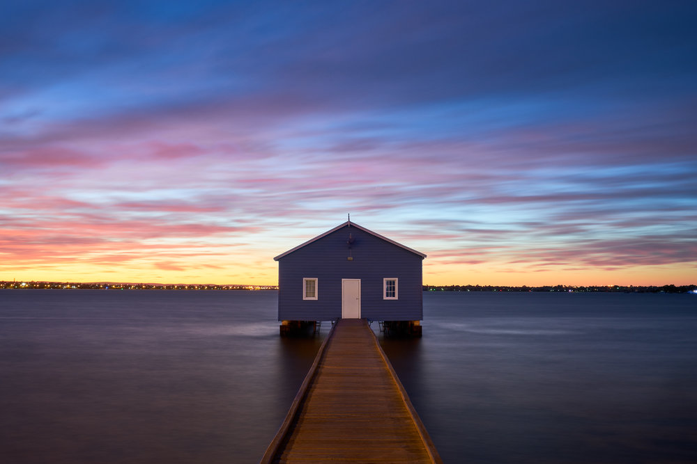 BLUE HOUSE ON SWAN RIVER, PERTH —  VIGEX International Salon of Photography 2018