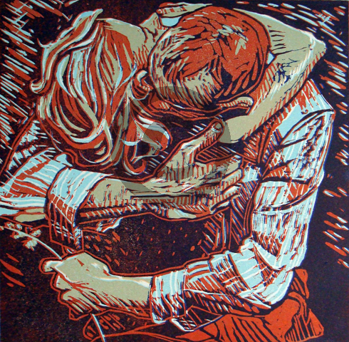 Hold Tight - Linocut.jpg