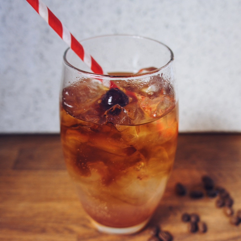 Cool Cherry Coffee Tonic