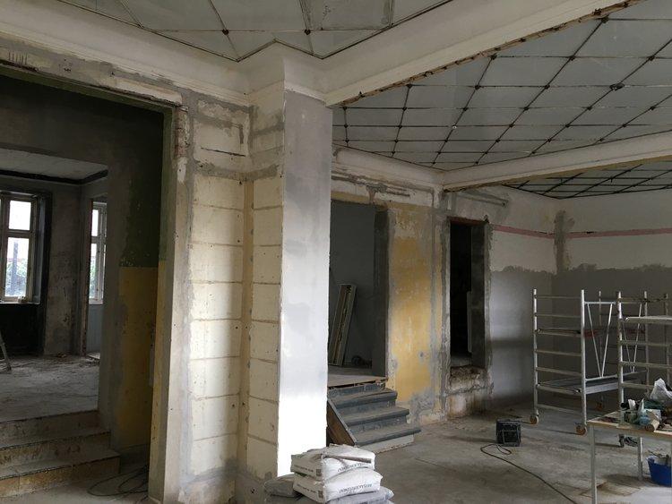 Nye fænomenale lokaler under istandsættelse