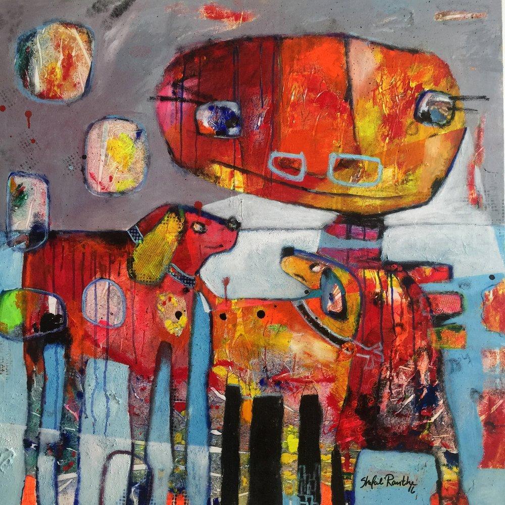 Together 1 - 100 x 100 cm - 2016