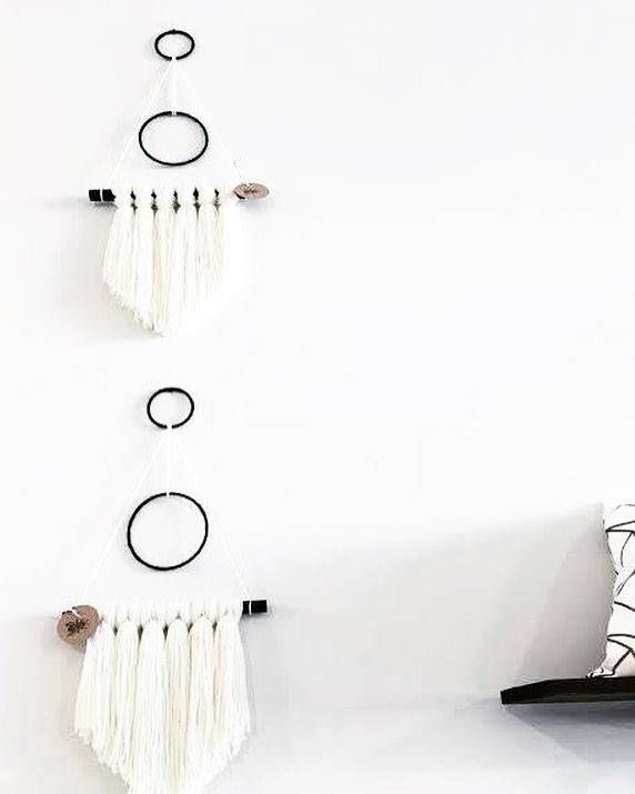 Circle Wall Hanging, $48.00