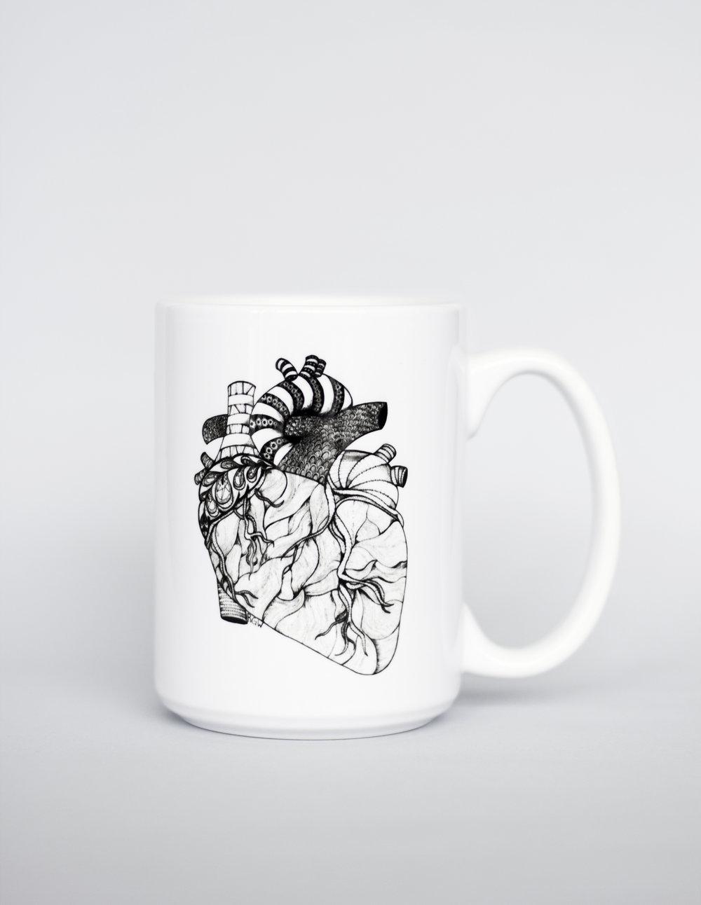 $20   Heart Mug