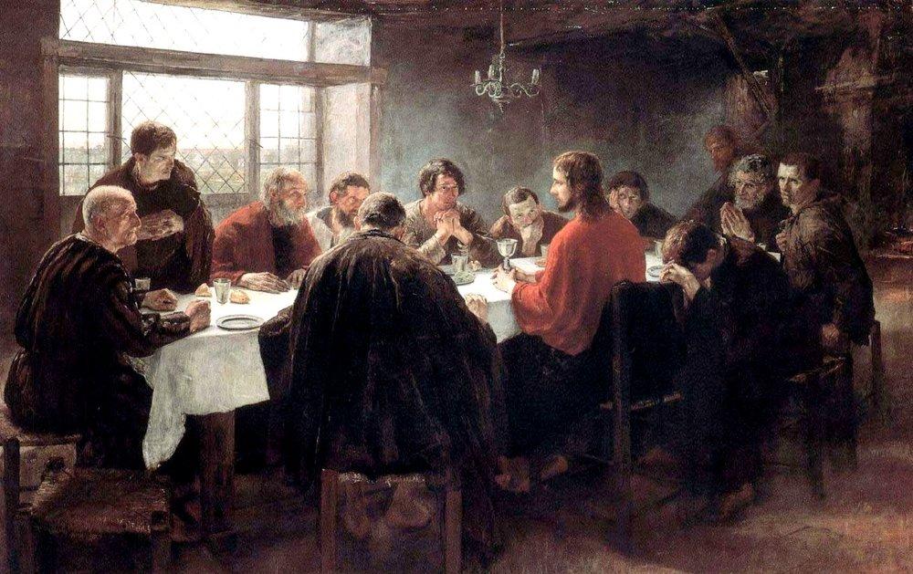 The Last Supper  by Fritz von Uhde, 1886
