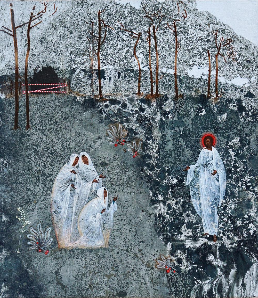 Appearance of Christ  by  Ivanka Demchuk