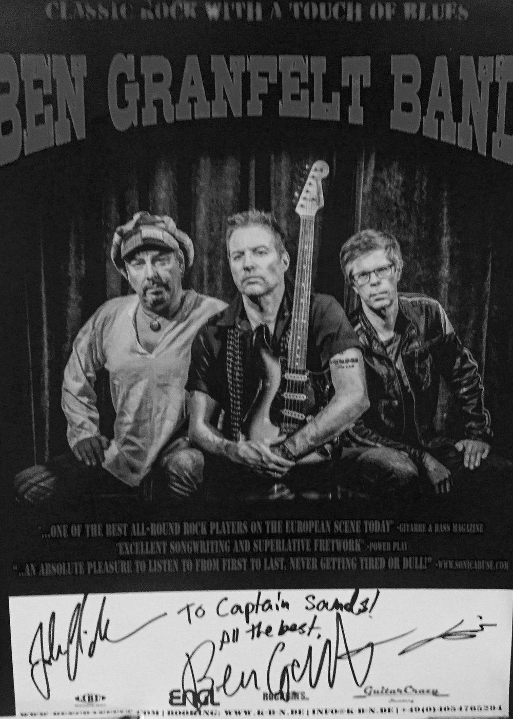 Ben Granfelt Band