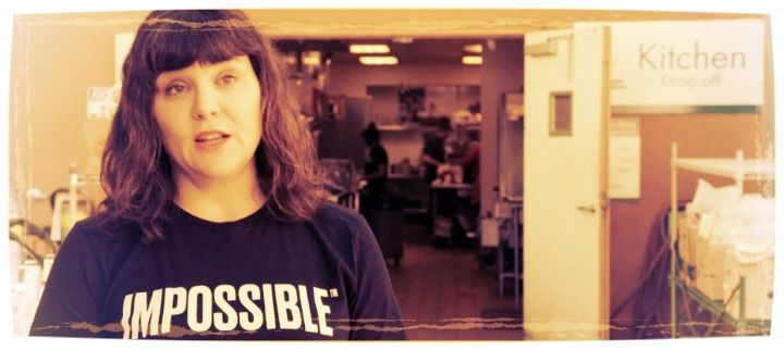 Jessica revolutionizes the fast-food industry with meat-free burgers. - More