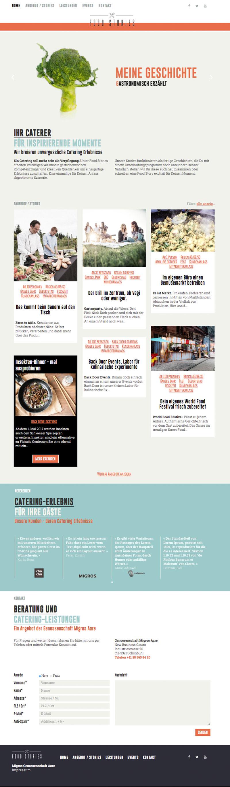 Website  www.food-stories.h