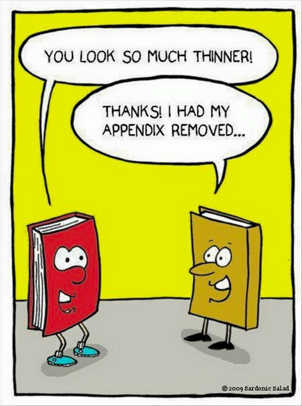 appendix book joke