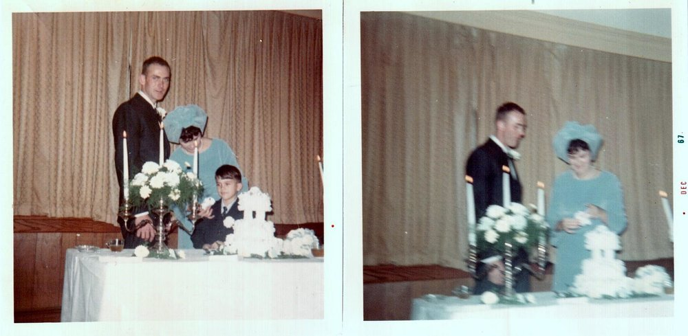 Wedding day, November 24, 1967