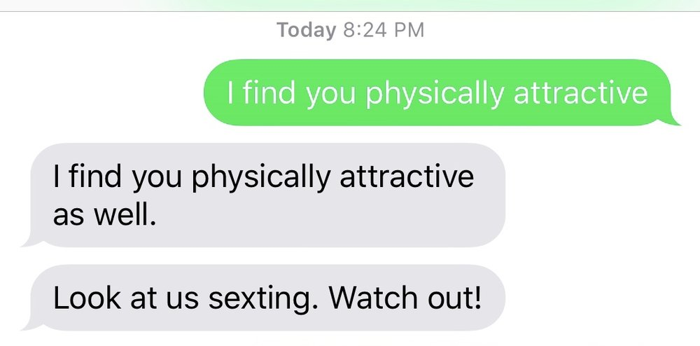 Scandalous sexting