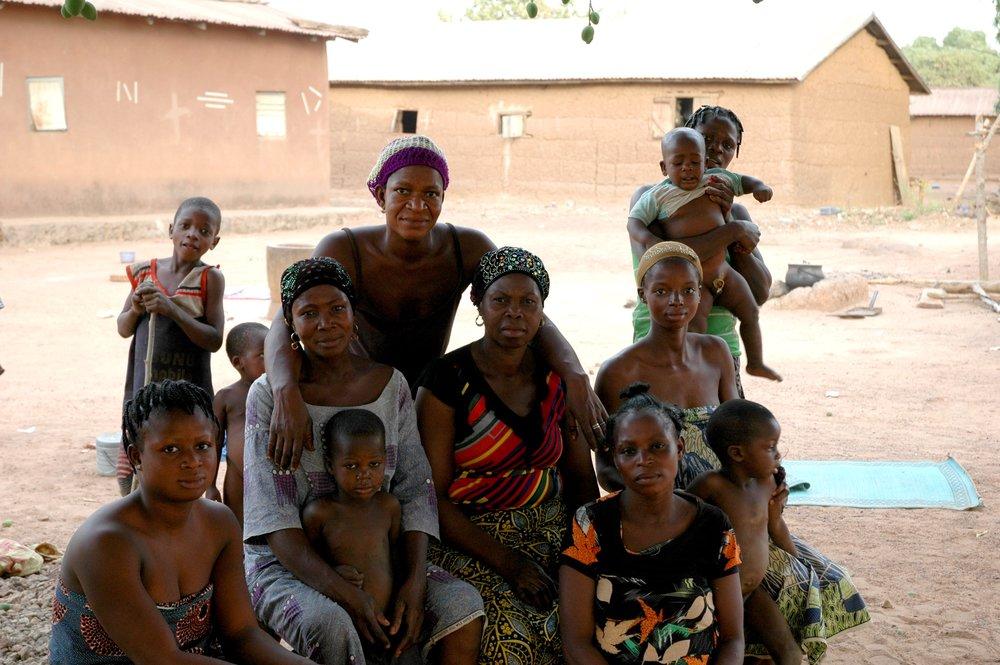 Femmes famille Atchade Igbérè